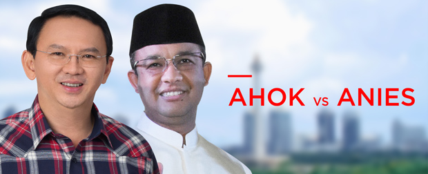 Ahok vs Anies