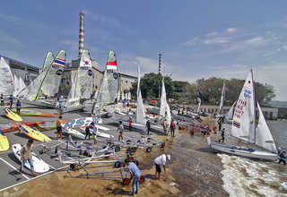 Sesi Latihan Asian Sailing Championship (ASC) 2018