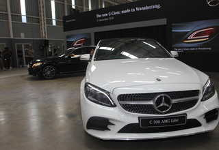 The New C-Class Edisi Terbaru Model Terlaris Mercedes-Benz