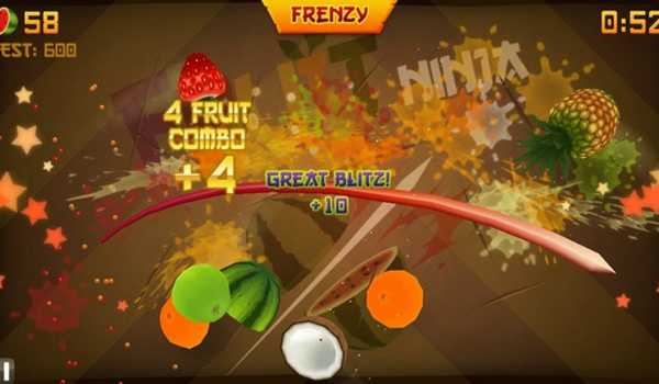 Ilustrasi Game Fruit Ninja