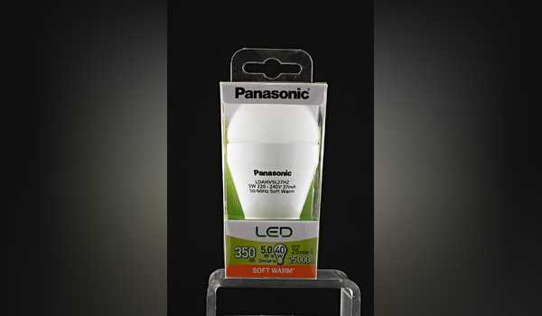 Lampu Panasonic Warm 2700k