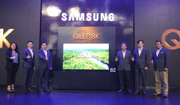 Samsung QLED 8K TV menghadirkan Real 8K Resolution