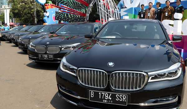 BMW Indonesia Official Mobility Partner pada ajang Blibli Indonesia Open 2019