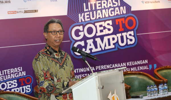 Literasi Keuangan, Goes To Campus