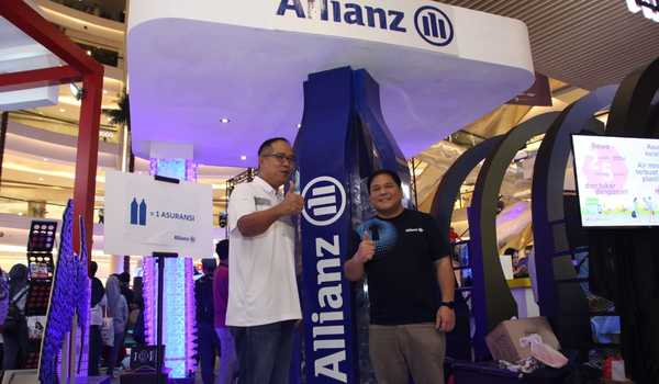 Allianz Indonesia Dukung Finexpo Sundown Run 2019