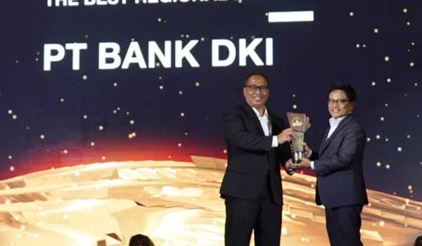 Bank DKI Raih The Best Regional