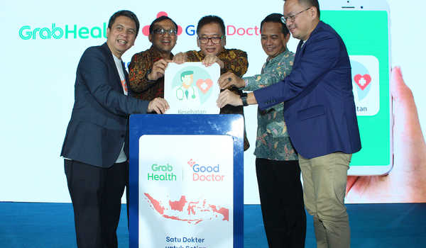 Grab dan Good Doctor Resmikan Grab Health