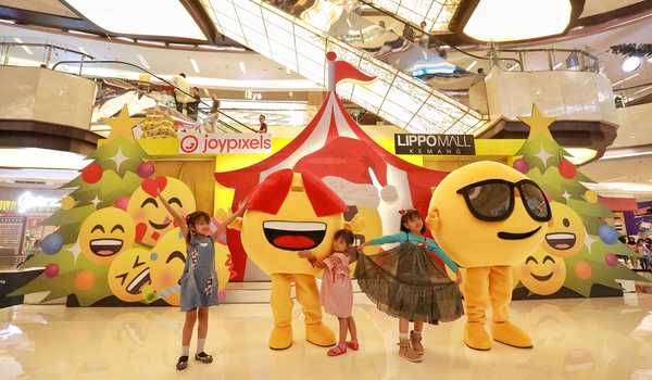 Meet and Greet Joypixels Emoji di Lippo Mall Kemang