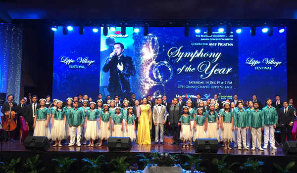 Lippo Group Gelar Konser Symphony of The Year