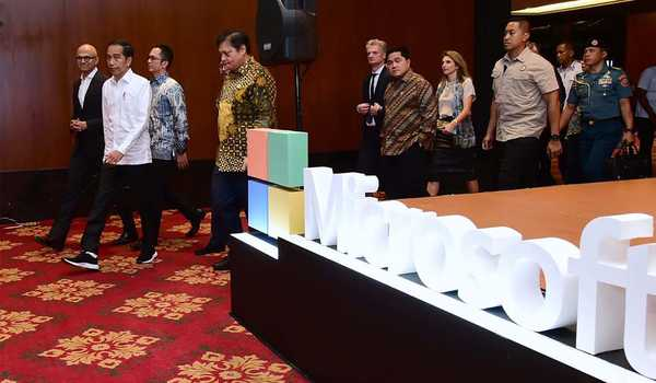 Presiden Jokowi Hadiri Indonesia Digital Economy Summit 2020