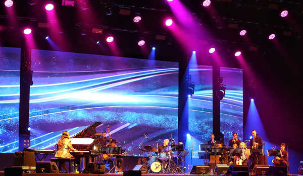 NusantEro Big Band di BNI Java Jazz Festival 2020