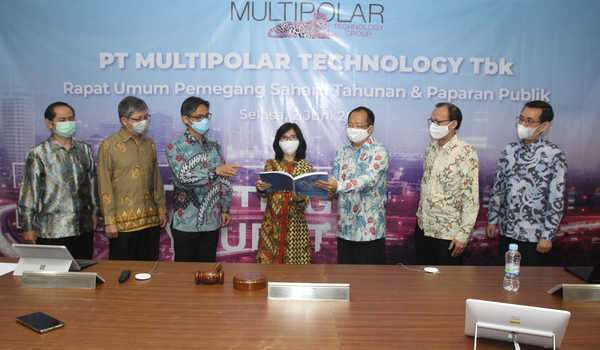 RUPST Multipolar Technology Tbk Ubah Direksi dan Dorong Percepatan Transformasi Digital