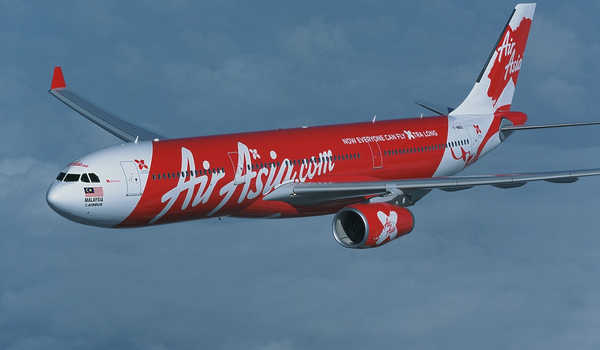Pesawat air asiaAirbus A330- 300 Air Asia . FOTO : AFP
