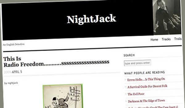 Akun blog NightJack.
