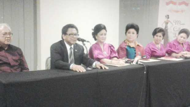 Press Confrence Malam Final Miss Coffee Indonesia 2013