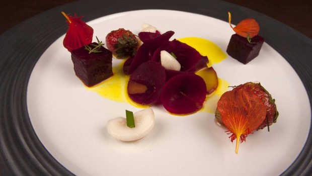 Menu Beet Root Strawberry Turmeric Yuzu.