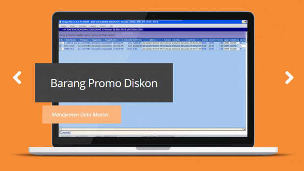 Omega POS Cloud, software aplikasi program point of sales online Indonesia.