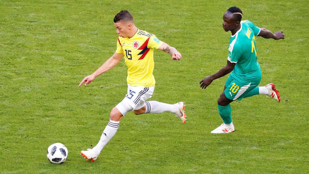 Senegal vs Kolombia