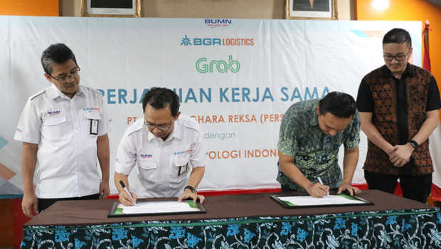BGR Logistics gandeng Grab Indonesia