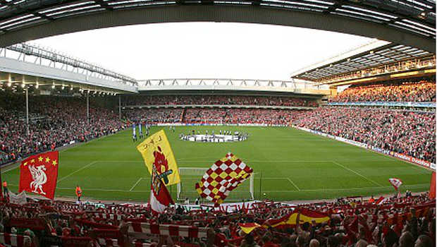 Stadion Anfield.