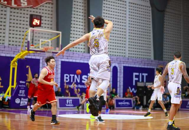 BTN CLS Knights Indonesia Taklukkan Singapore Slingers