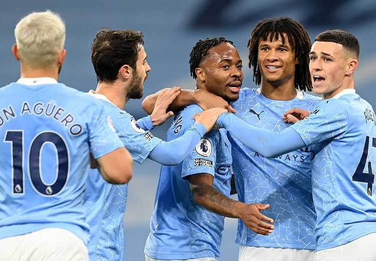 Gol Tunggal Sterling Antar Man City Taklukkan Arsenal
