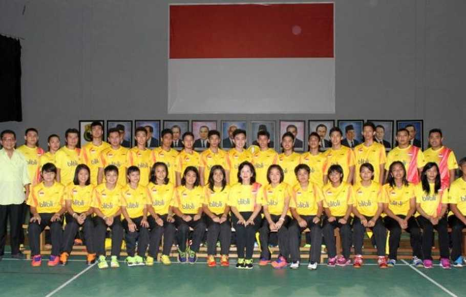 Pelepasan tim World Junior Championship 2014