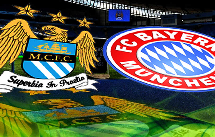 Preview laga Manchester City vs Bayern Muenchen