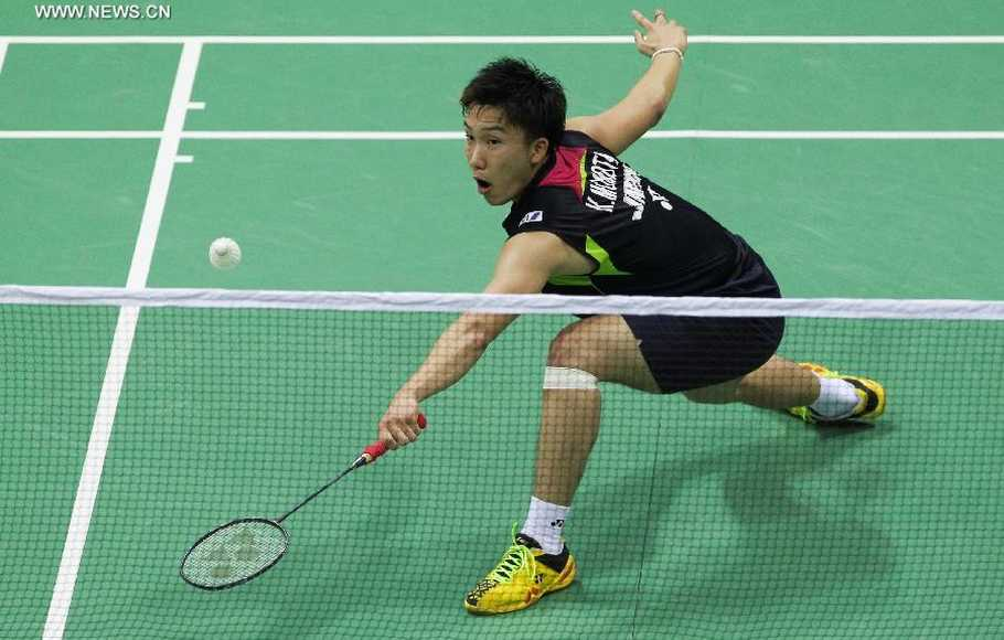Anthony Bertemu Kento Momota di Final