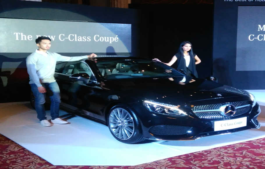 Tampilan The New C-Class Coupe
