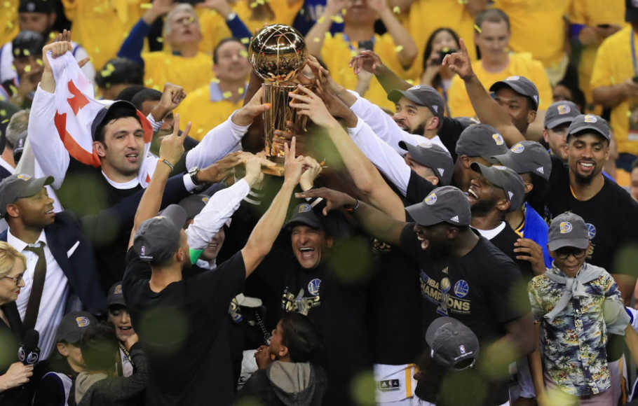 Taklukkan Cavaliers, Warriors Juara NBA