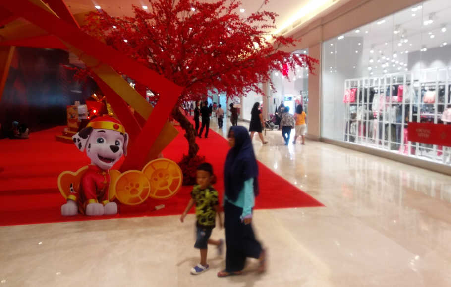 Mall of Indonesia sambut Imlek.