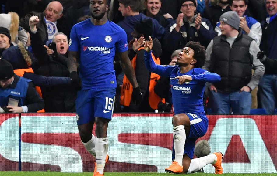 Willian Buka Keunggulan Chelsea