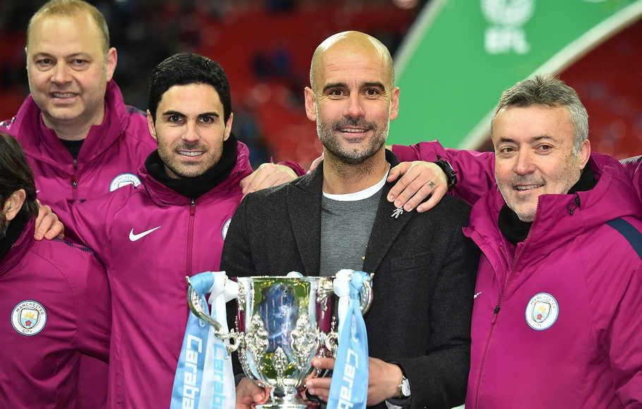 Man City Restui Mikel Arteta Gantikan Emery di Arsenal