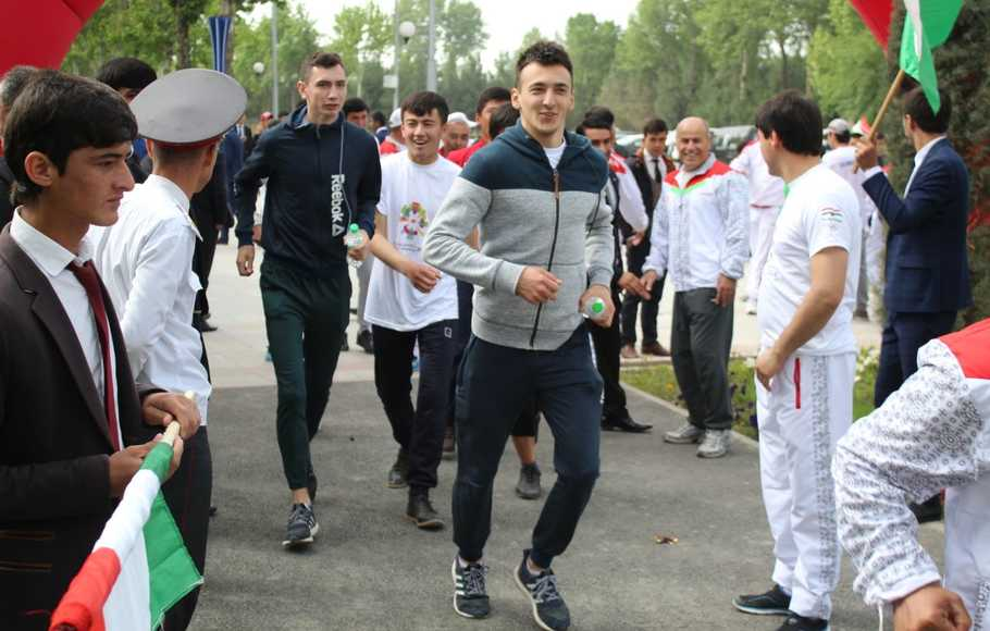 OCA Fun Run Buat Indonesia Dikenal di Tajikistan
