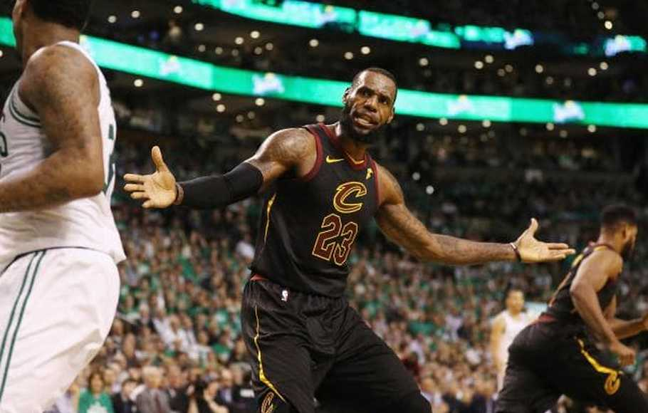 Pemain Cleveland Cavaliers LeBron James