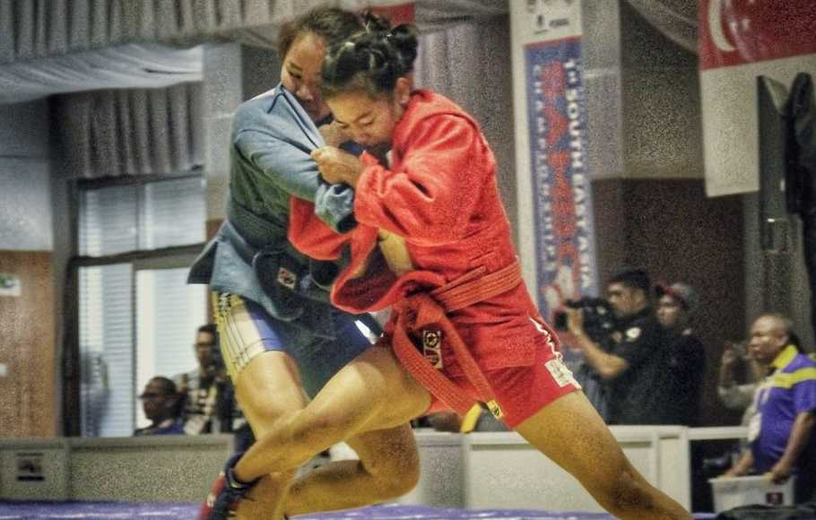 Sambo Incar 1 Emas di SEA Games 2019