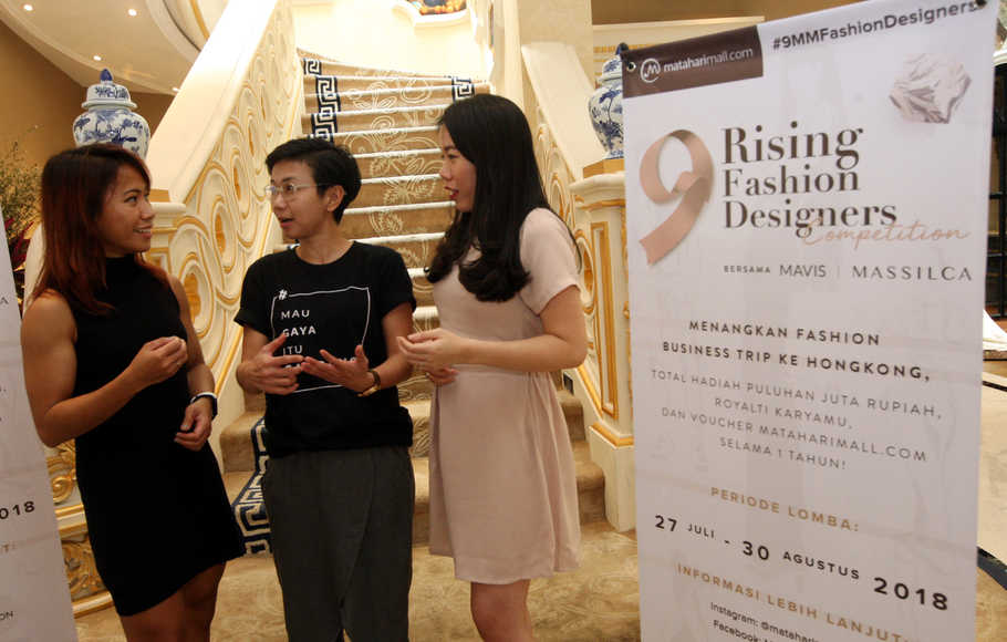 MatahariMall.com Gelar 9 Rising Fashion Designers Competition
