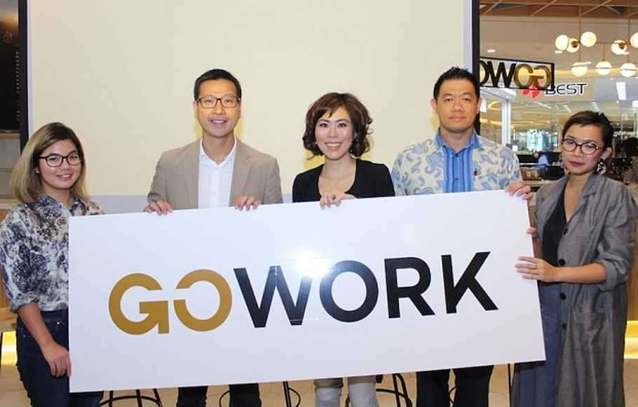 GoWork Buka Co-working Space Lantai Dasar Terinovatif dan Terluas