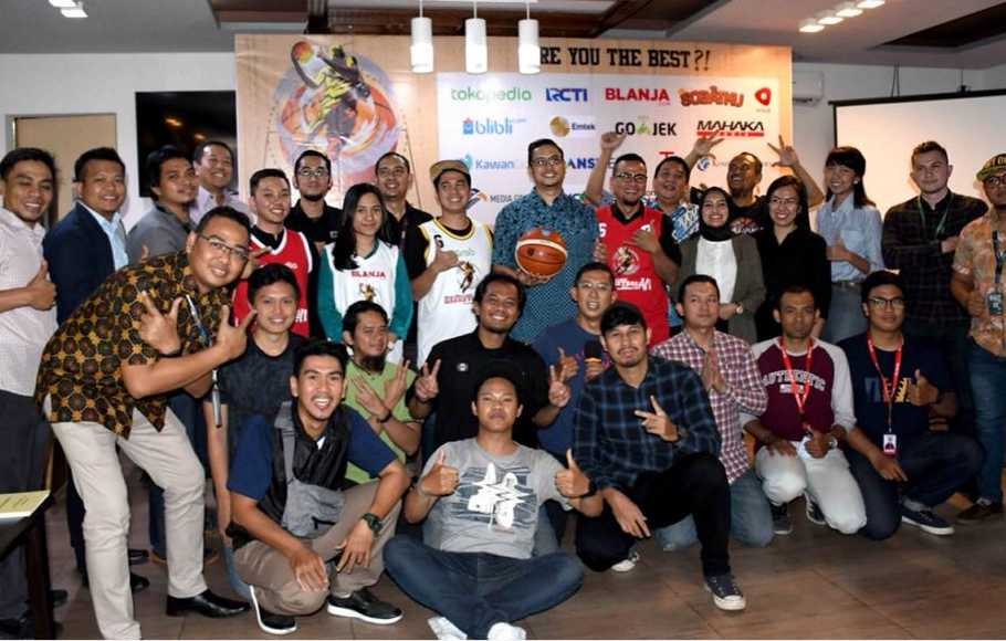 18 Tim Bersaing di SML Basketball Tournament 2018