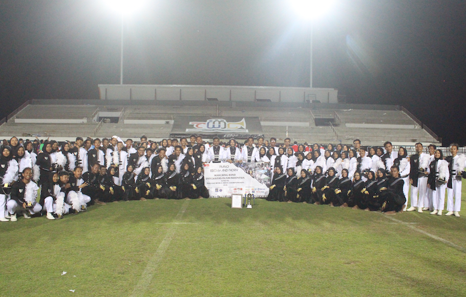 Marching Band UII Sabet Juara 3 Kelas Dunia