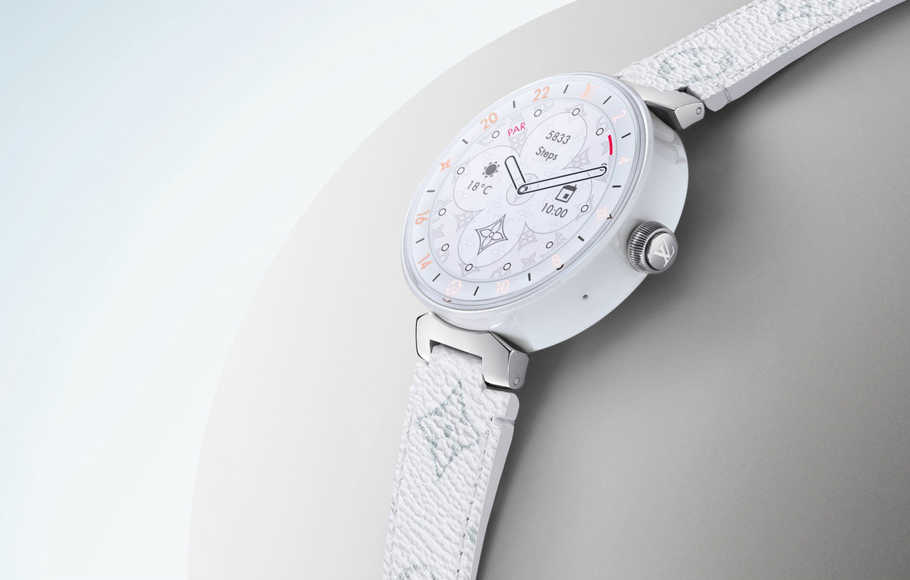 Jam Pintar Louis Vuitton Gunakan Snapdragon Wear 3100