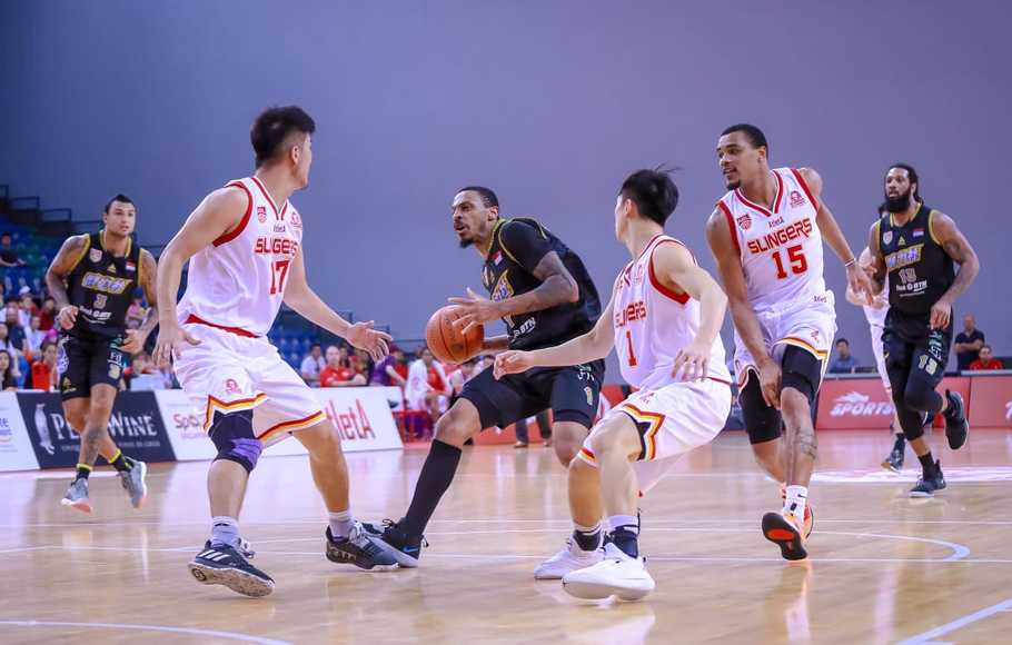 BTN CLS Knights Indonesia Bungkam Singapore Slingers