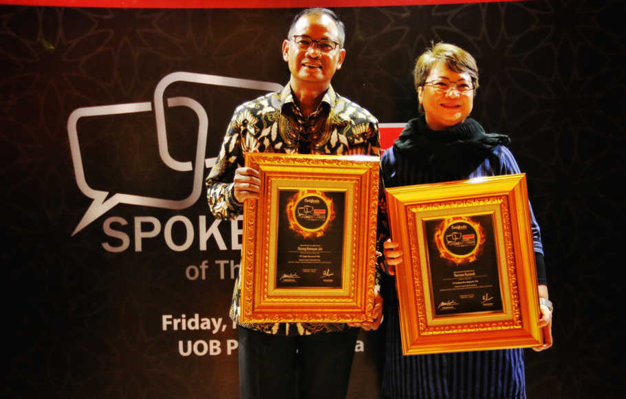 Penghargaan Indonesia Spokesperson of the Year Award 2019