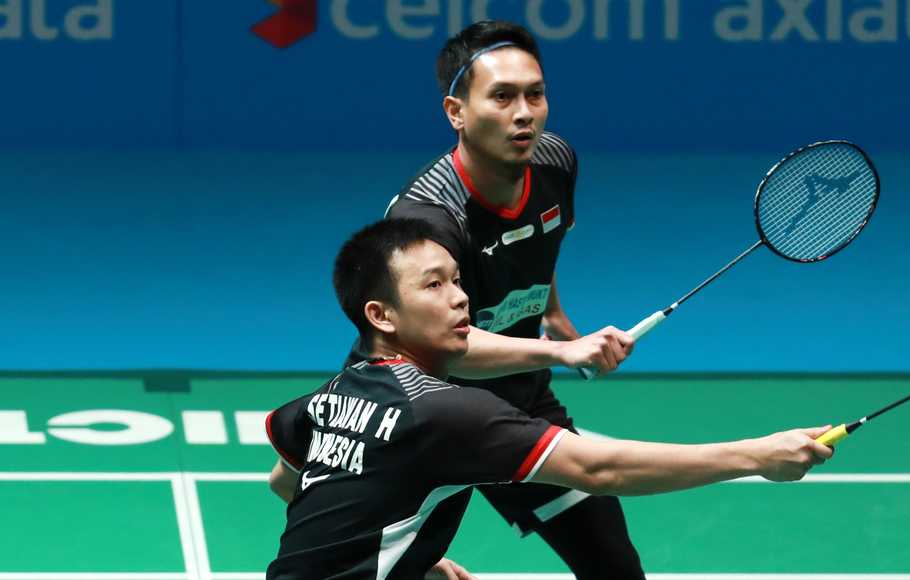 Gagal Juara, Ahsan/Hendra Puas Jadi Runner Up