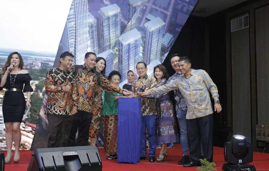 Pollux Habibie Tutup Atap Tower A3 Meisterstadt