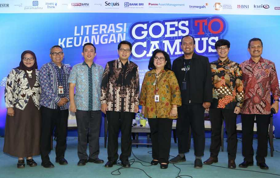 Seminar Literasi Keuangan, Goes To Campus