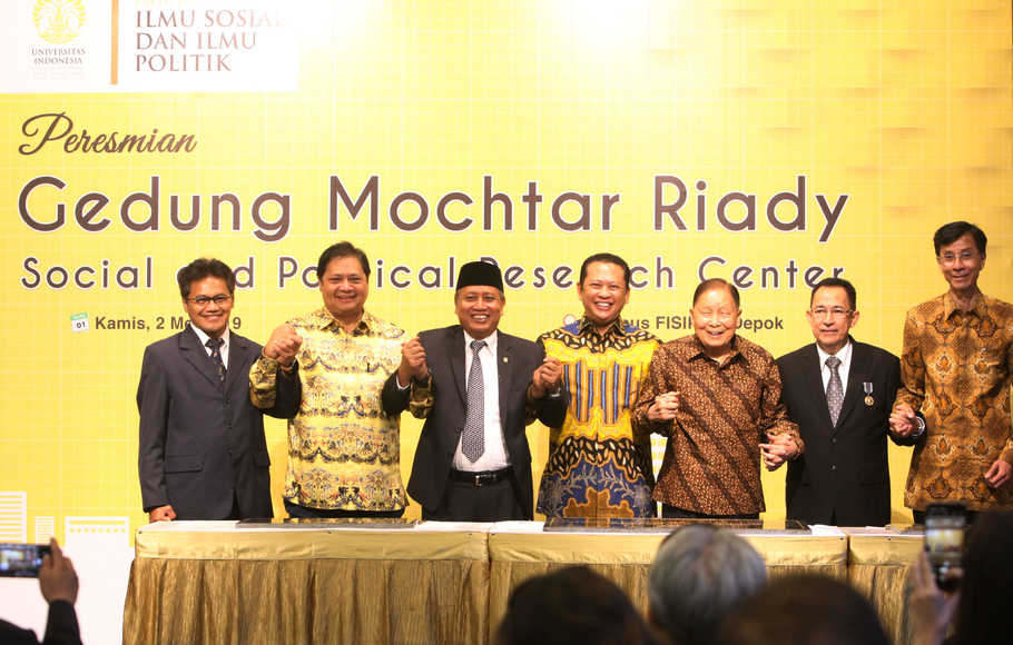 Gedung Mochtar Riady Social and Political Research Center di UI Diresmikan