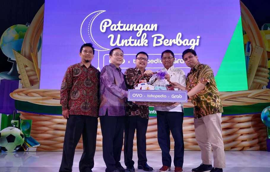 OVO, Grab, dan Tokopedia Hadirkan Program Donasi Digital