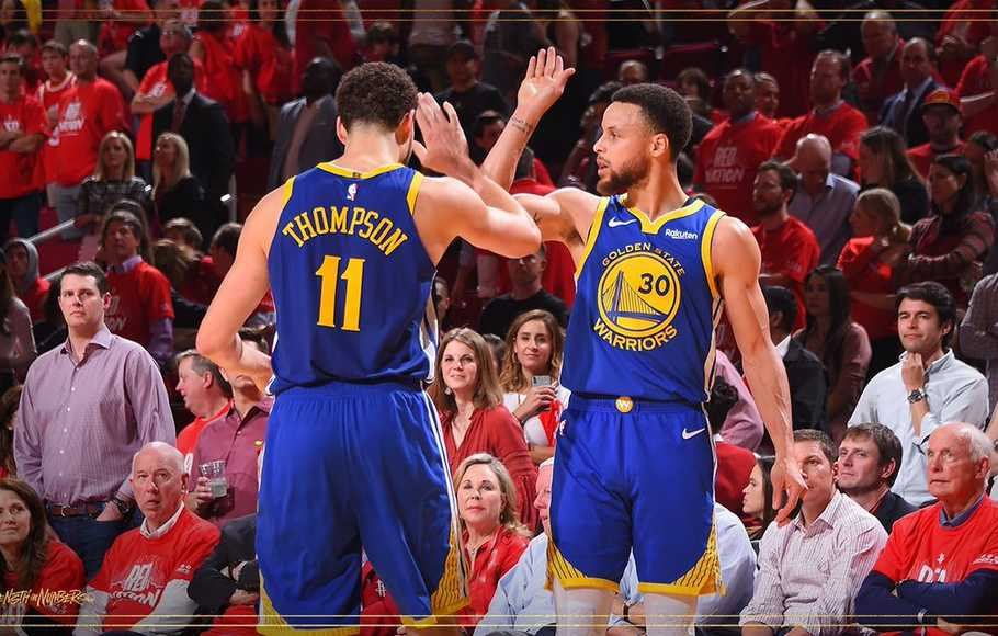 Singkirkan Rockets, Warriors ke Final Barat NBA Playoffs 2019
